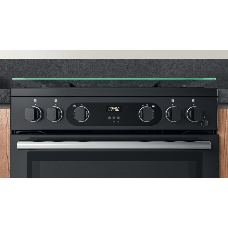 Hotpoint-Double-Cooker-CD67G0C2CA-UK-Antracite-A--Lifestyle-control-panel