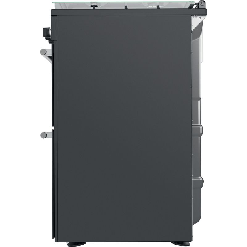 Hotpoint-Double-Cooker-CD67G0C2CA-UK-Antracite-A--Back---Lateral