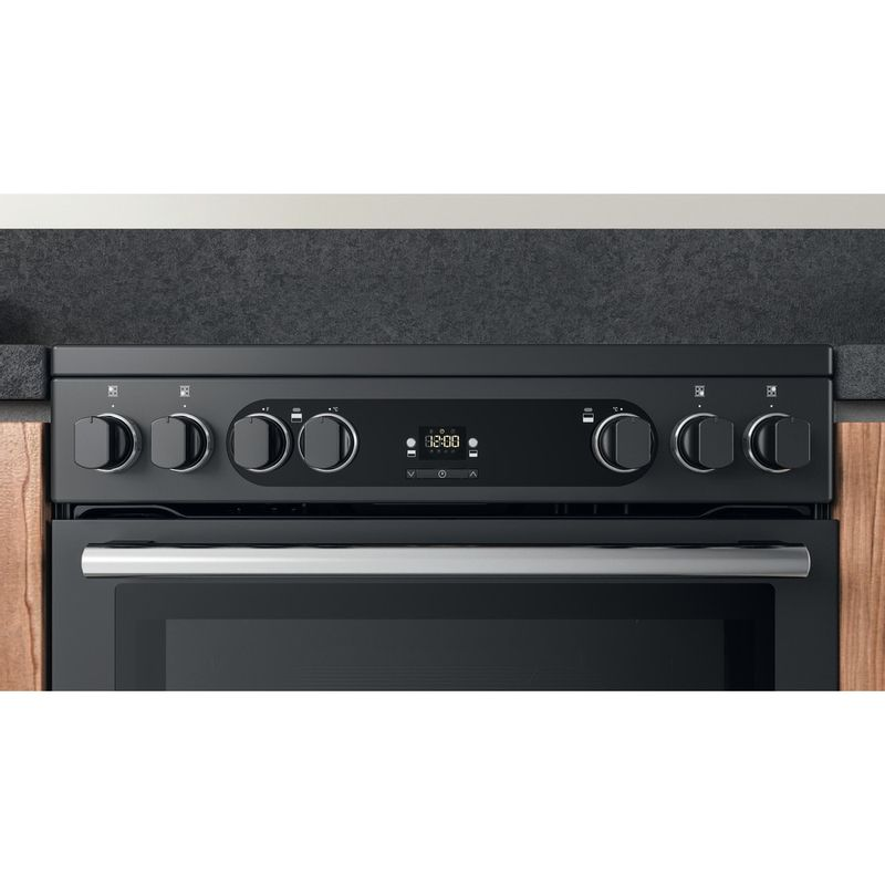 Hotpoint-Double-Cooker-CD67V9H2CA-UK-Antracite-A-Lifestyle-control-panel