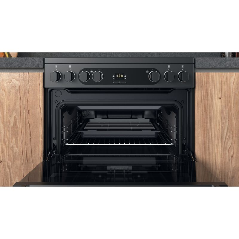 Hotpoint-Double-Cooker-CD67V9H2CA-UK-Antracite-A-Cavity