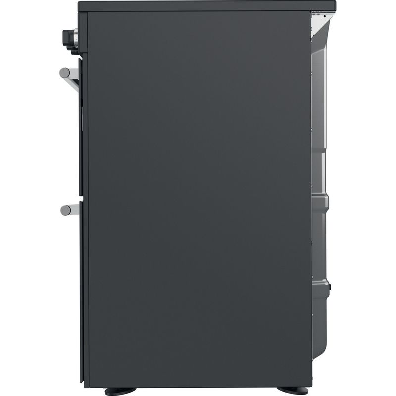 Hotpoint-Double-Cooker-CD67V9H2CA-UK-Antracite-A-Back---Lateral