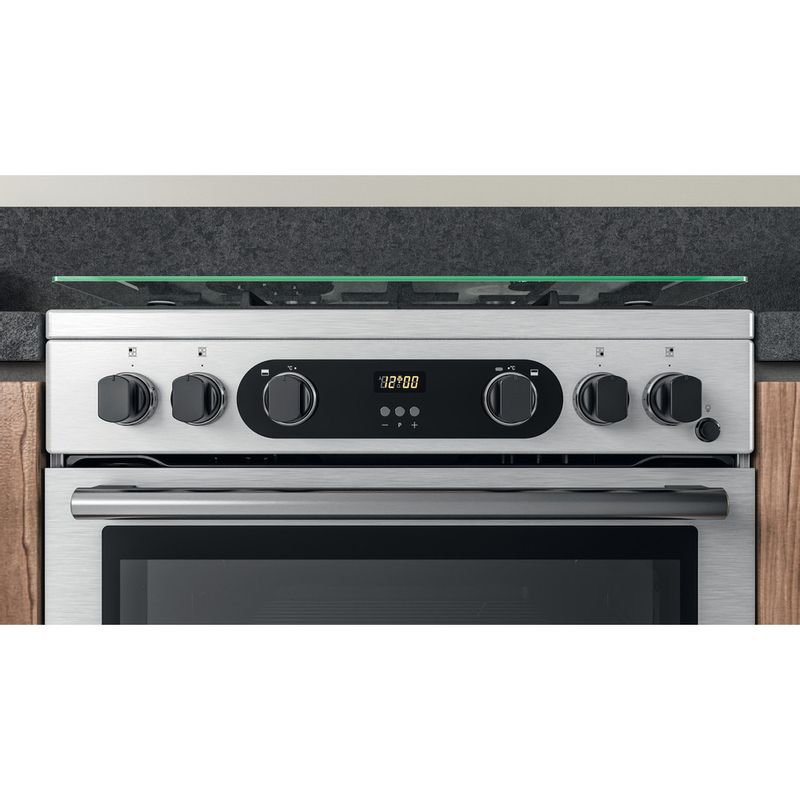 Hotpoint-Double-Cooker-CD67G0CCX-UK-Inox-A--Lifestyle-control-panel