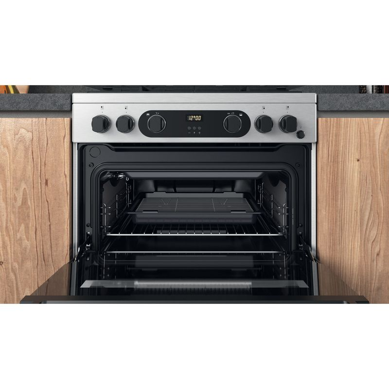 Hotpoint-Double-Cooker-CD67G0CCX-UK-Inox-A--Cavity