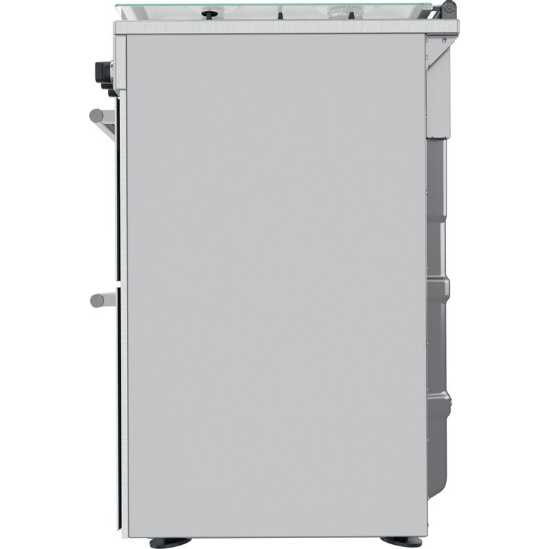 Hotpoint-Double-Cooker-CD67G0CCX-UK-Inox-A--Back---Lateral