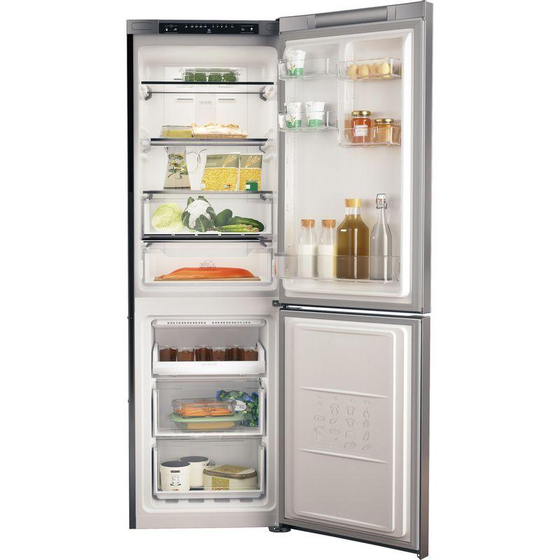 Hotpoint-Fridge-Freezer-Free-standing-H3T-811I-OX-1-Optic-Inox-2-doors-Frontal-open