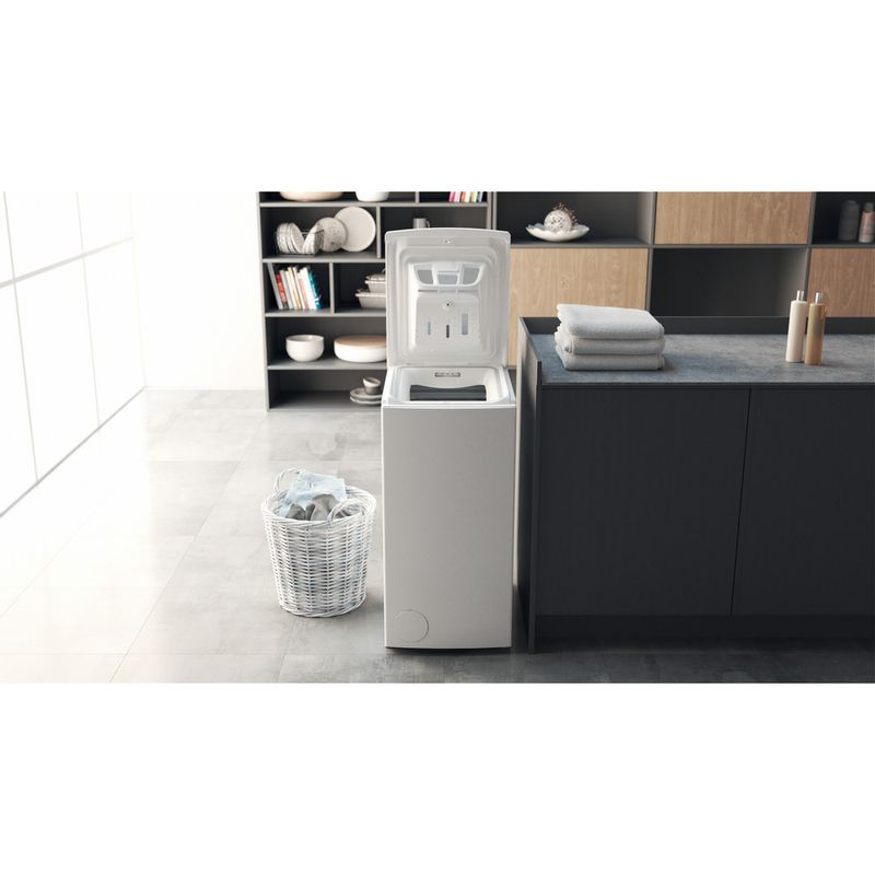 Hotpoint-Washing-machine-Free-standing-WMTF-722U-UK-N-White-Top-loader-E-Lifestyle-frontal-open
