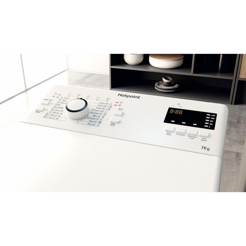 Hotpoint-Washing-machine-Free-standing-WMTF-722U-UK-N-White-Top-loader-E-Lifestyle-control-panel