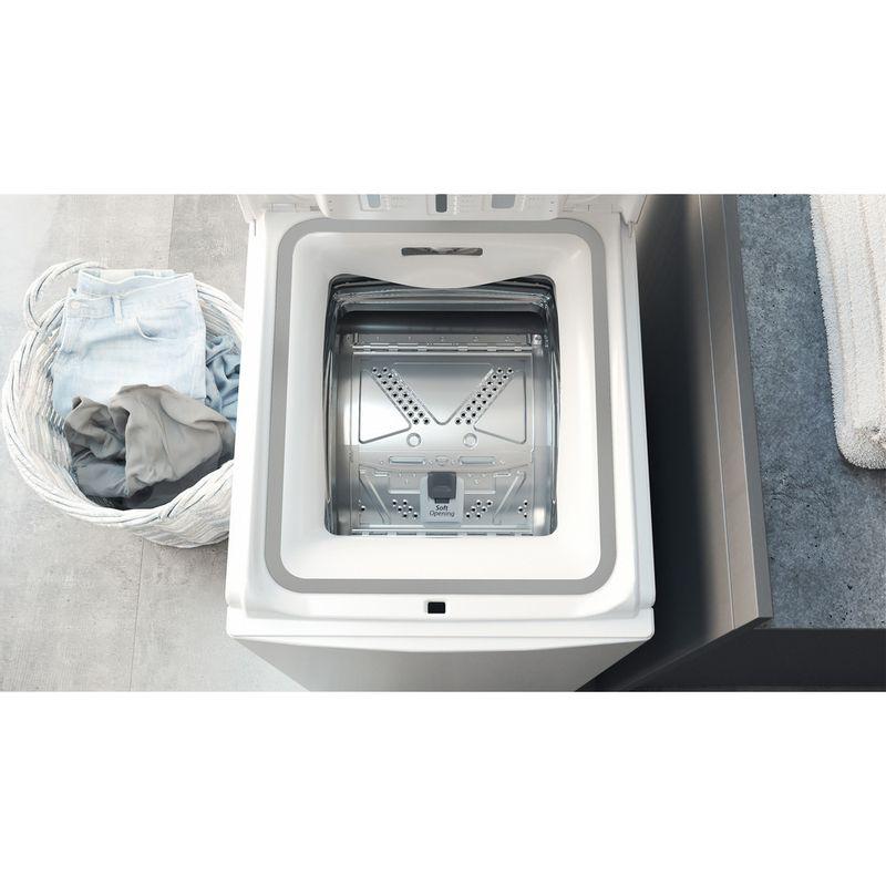 Hotpoint-Washing-machine-Free-standing-WMTF-722U-UK-N-White-Top-loader-E-Drawer