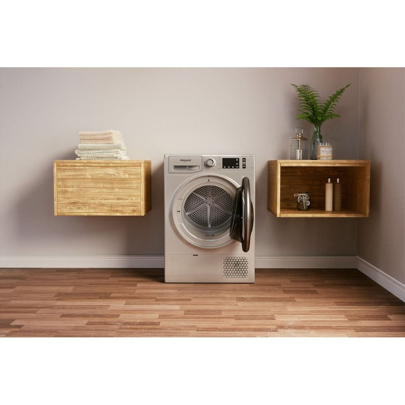 Hotpoint-Dryer-NT-M11-9X2SXB-UK-Silver-Lifestyle-frontal-open