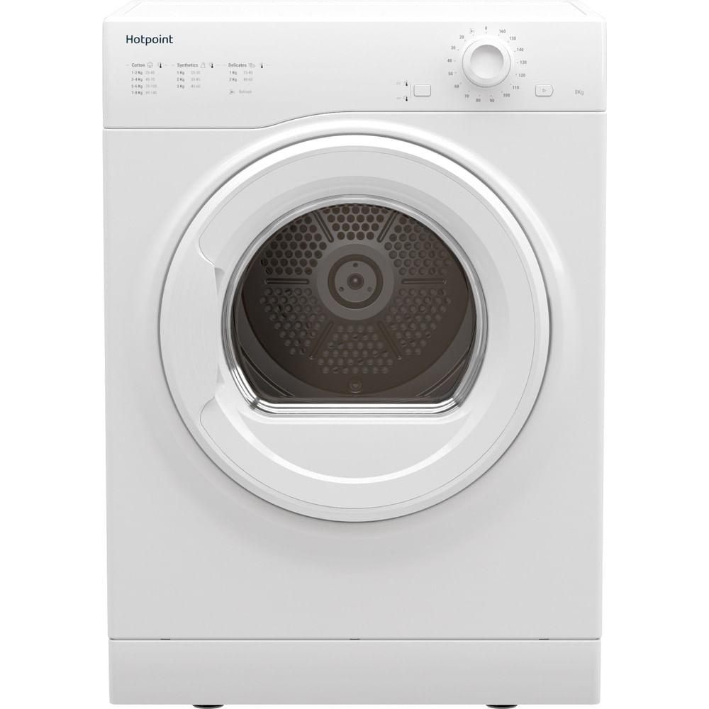 Hotpoint Freestanding tumble dryer H1 D80W UK : discover the specifications of our home appliances and bring the innovation into your house and family.