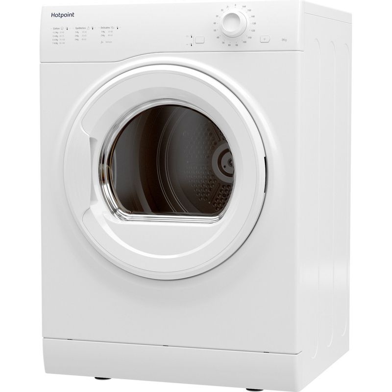 Hotpoint-Dryer-H1-D80W-UK-White-Perspective