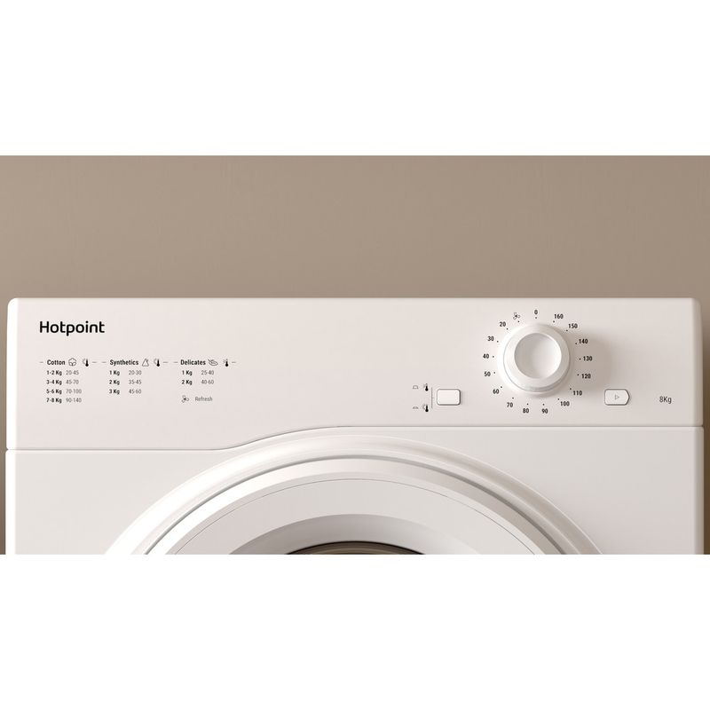 Hotpoint-Dryer-H1-D80W-UK-White-Lifestyle-control-panel
