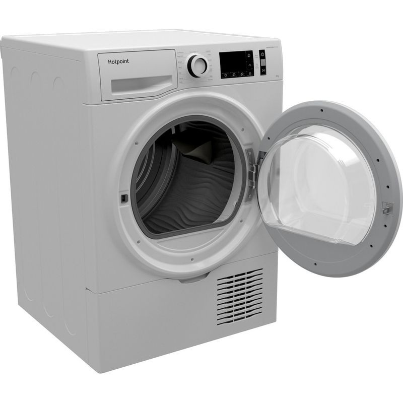 Hotpoint-Dryer-H3-D81WB-UK-White-Perspective-open