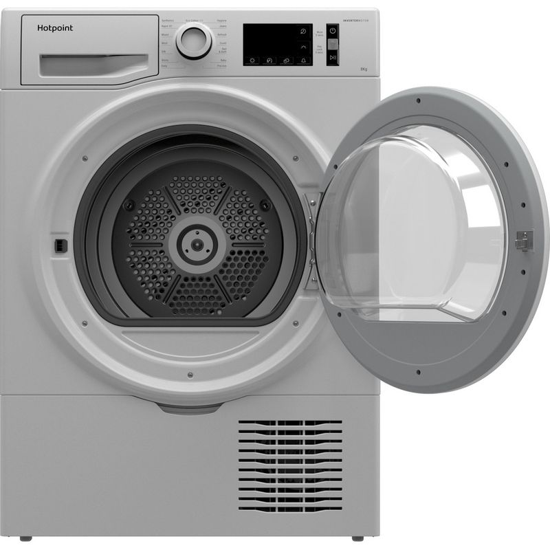 Hotpoint-Dryer-H3-D81WB-UK-White-Frontal-open