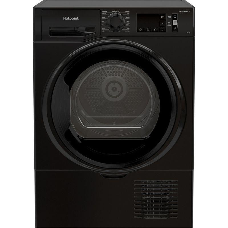 Hotpoint-Dryer-H3-D81B-UK-Black-Frontal