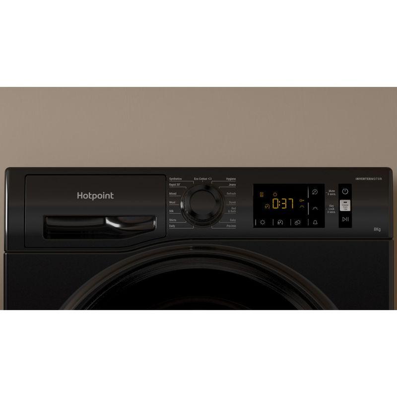 Hotpoint-Dryer-H3-D81B-UK-Black-Lifestyle-control-panel