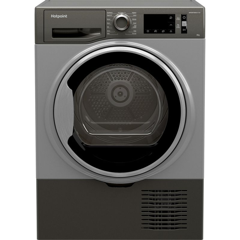 Hotpoint-Dryer-H3-D81GS-UK-Graphite-Frontal