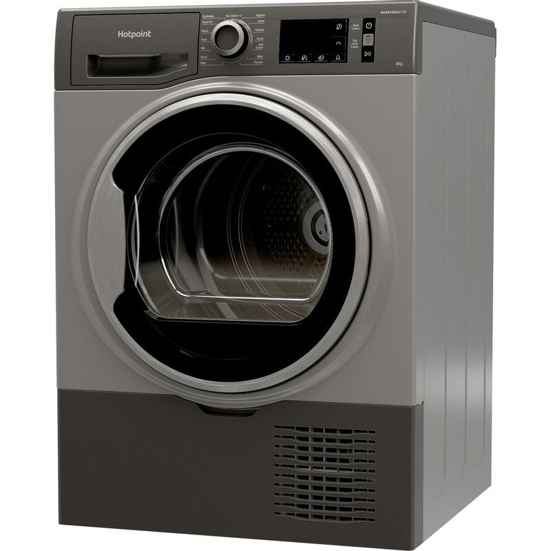 Hotpoint-Dryer-H3-D81GS-UK-Graphite-Perspective