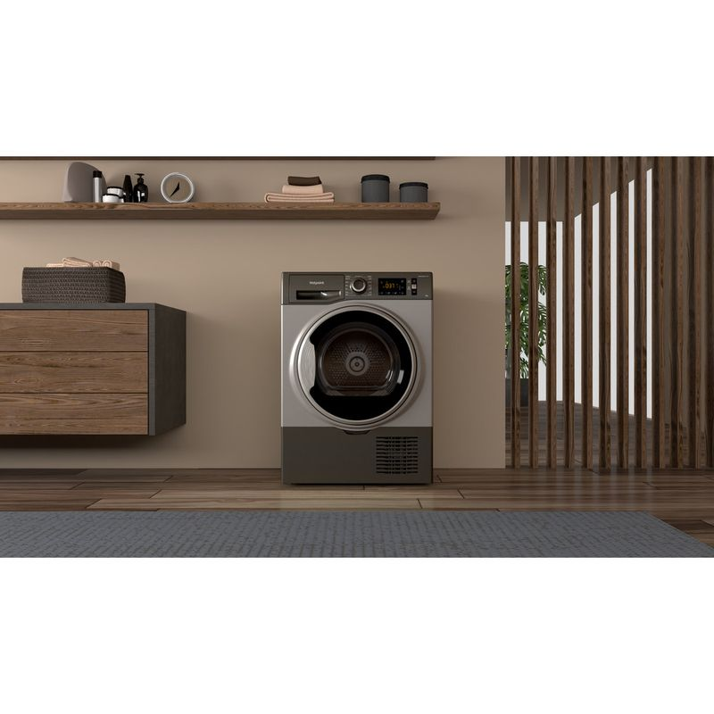 Hotpoint-Dryer-H3-D81GS-UK-Graphite-Lifestyle-frontal