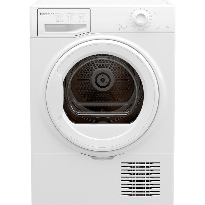 Hotpoint-Dryer-H2-D81W-E-UK-White-Frontal