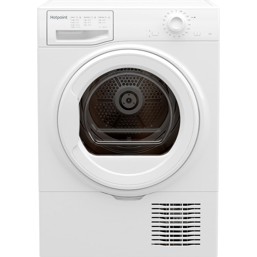 Hotpoint Freestanding tumble dryer H2 D81W E UK : discover the specifications of our home appliances and bring the innovation into your house and family.