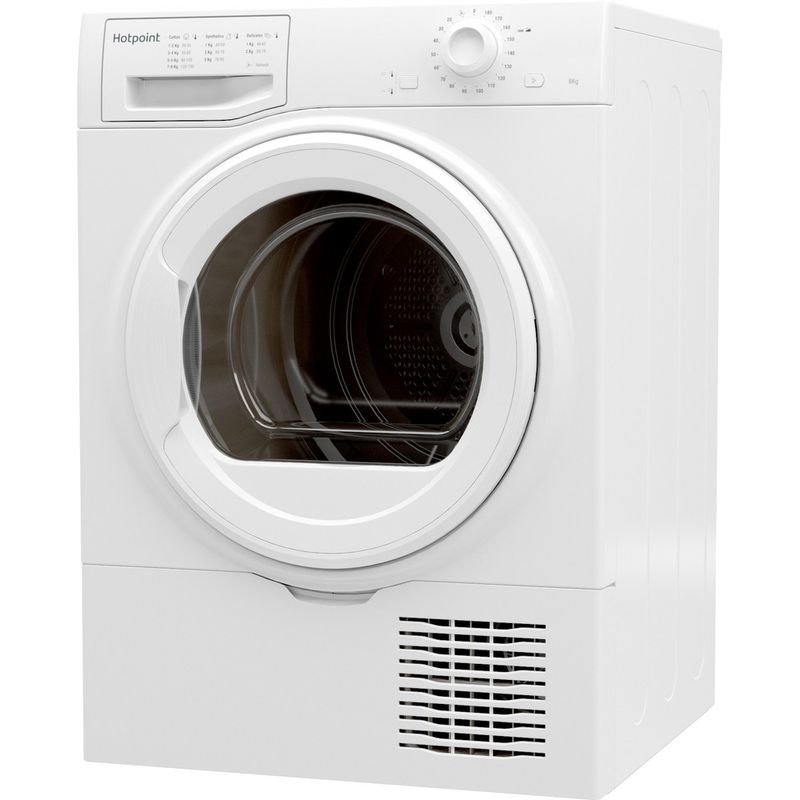 Hotpoint-Dryer-H2-D81W-UK-White-Perspective