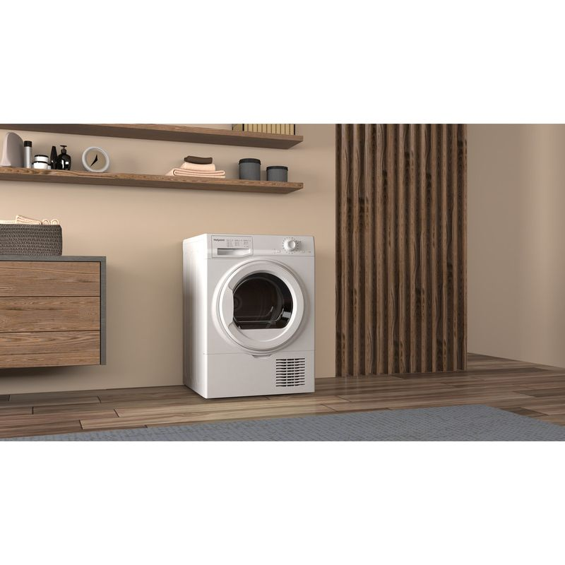 Hotpoint-Dryer-H2-D81W-UK-White-Lifestyle-perspective