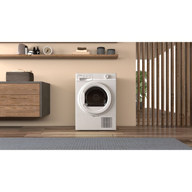Hotpoint-Dryer-H2-D81W-UK-White-Lifestyle-frontal