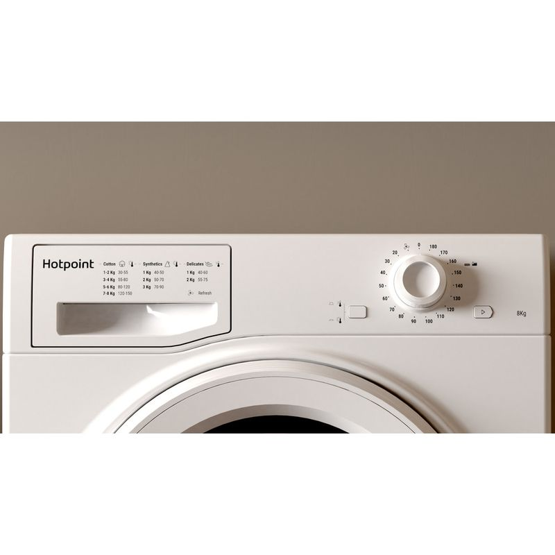 Hotpoint-Dryer-H2-D81W-UK-White-Lifestyle-control-panel