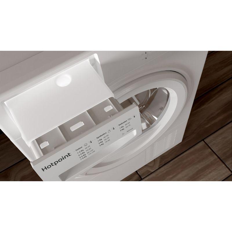 Hotpoint-Dryer-H2-D81W-UK-White-Drawer