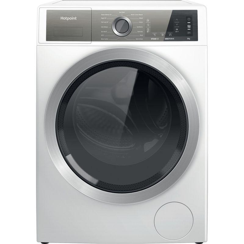 Hotpoint-Washing-machine-Free-standing-H6-W845WB-UK-White-Front-loader-B-Frontal