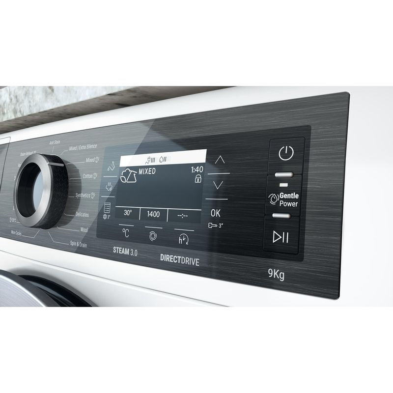 Hotpoint-Washing-machine-Free-standing-H8-W946WB-UK-White-Front-loader-A-Lifestyle-control-panel