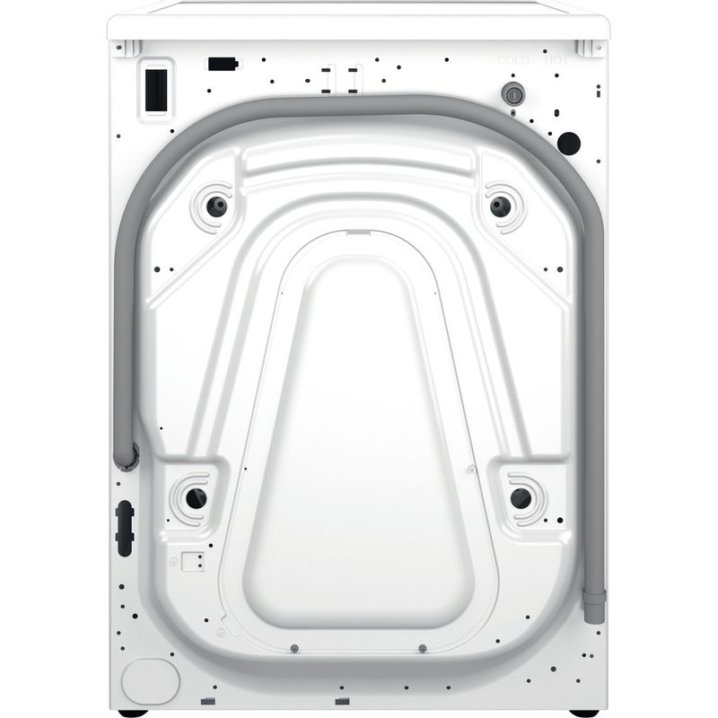 Hotpoint-Washing-machine-Free-standing-H8-W946WB-UK-White-Front-loader-A-Back---Lateral
