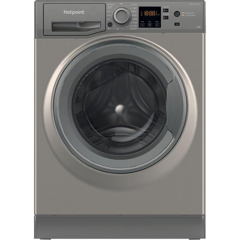 Hotpoint-Washing-machine-Free-standing-NSWM-1043C-GG-UK-N-Graphite-Front-loader-C-Frontal