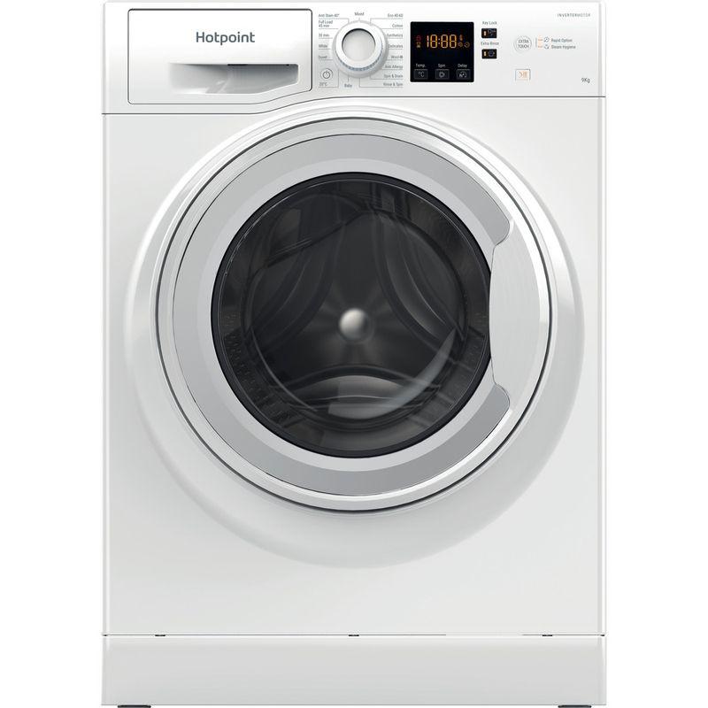 Hotpoint-Washing-machine-Free-standing-NSWR-944C-WK-UK-N-White-Front-loader-C-Frontal
