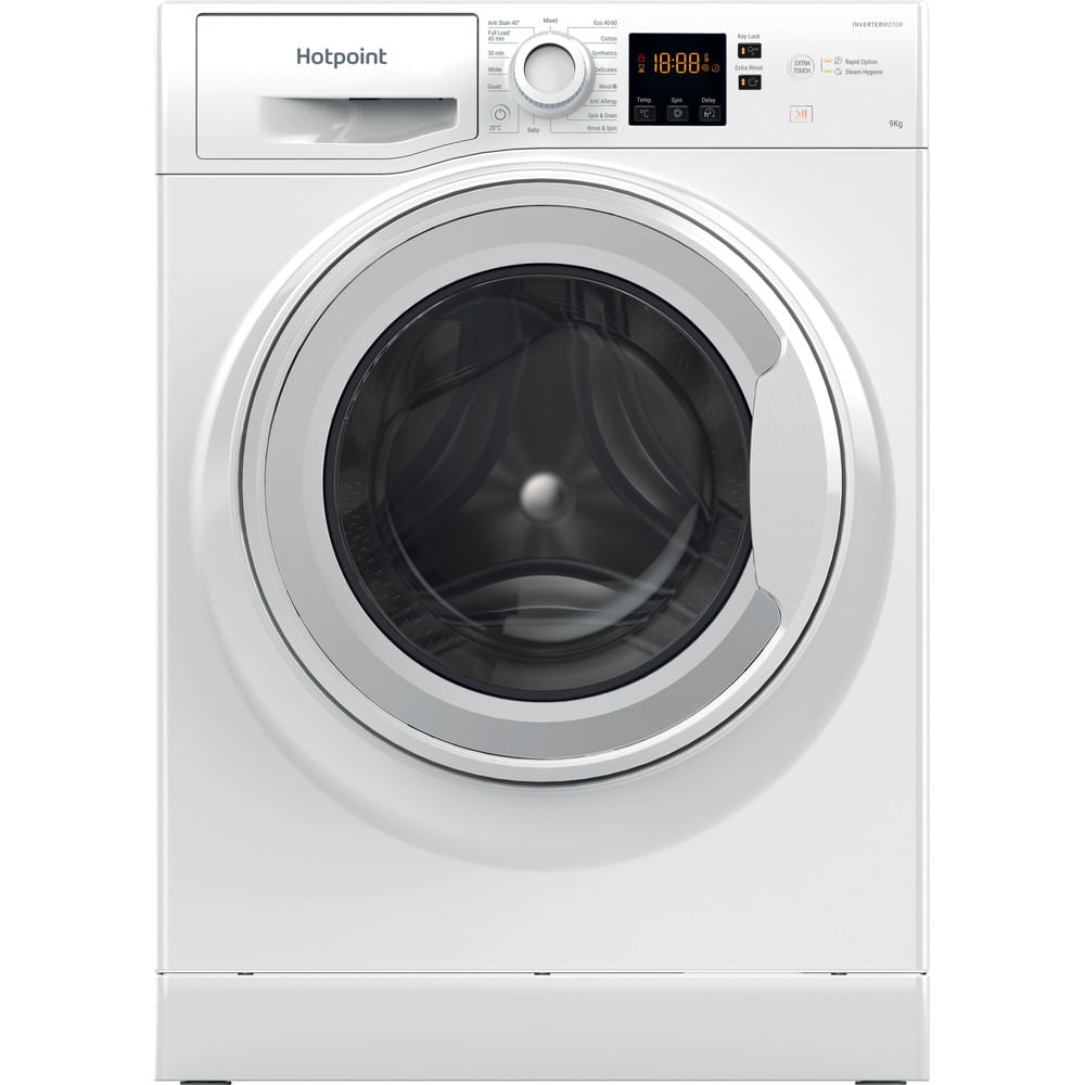 Hotpoint Freestanding Washing Machine NSWM 944C W UK N : discover the specifications of our home appliances and bring the innovation into your house and family.