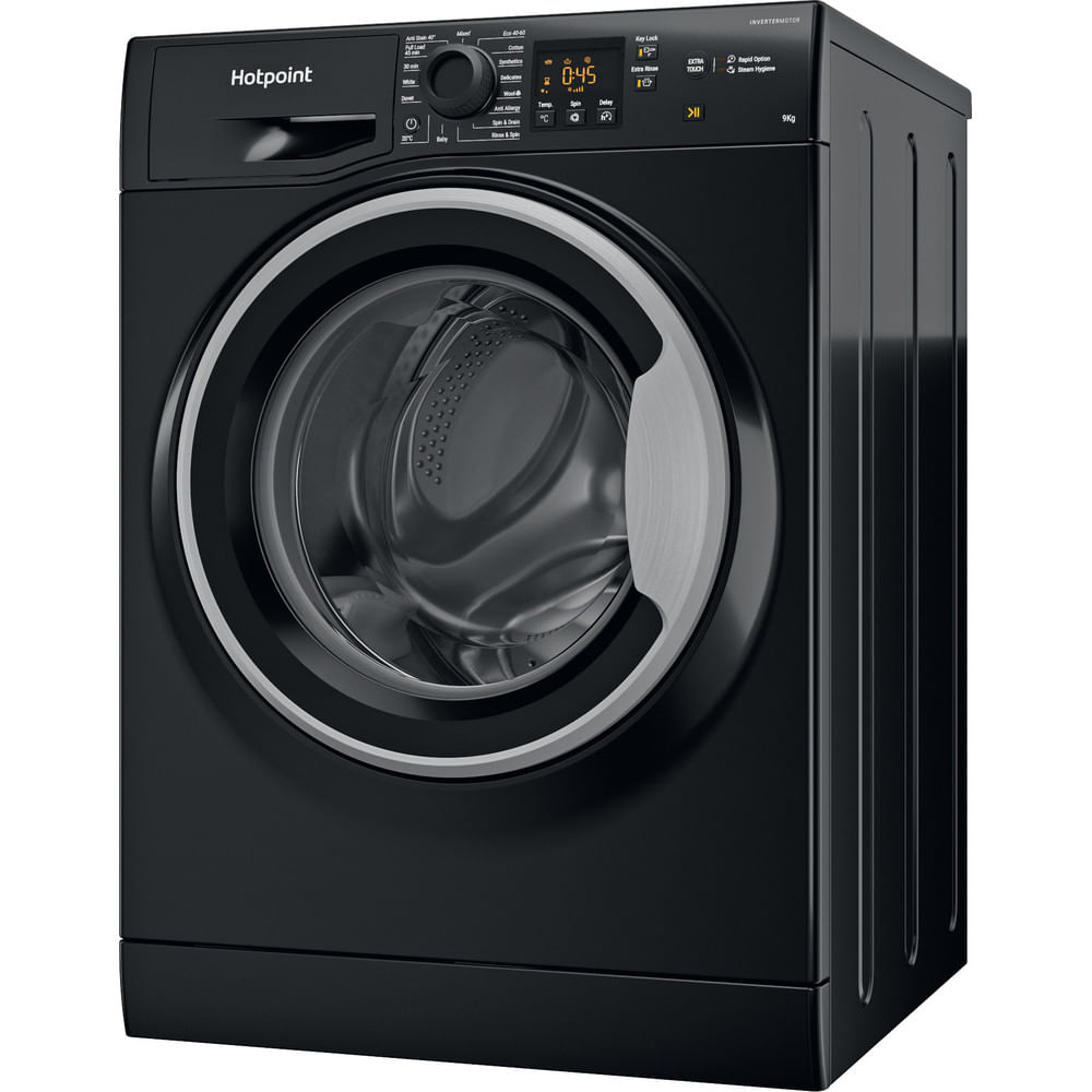 Hotpoint Freestanding Washing Machine NSWF 944C BS UK N : discover the specifications of our home appliances and bring the innovation into your house and family.