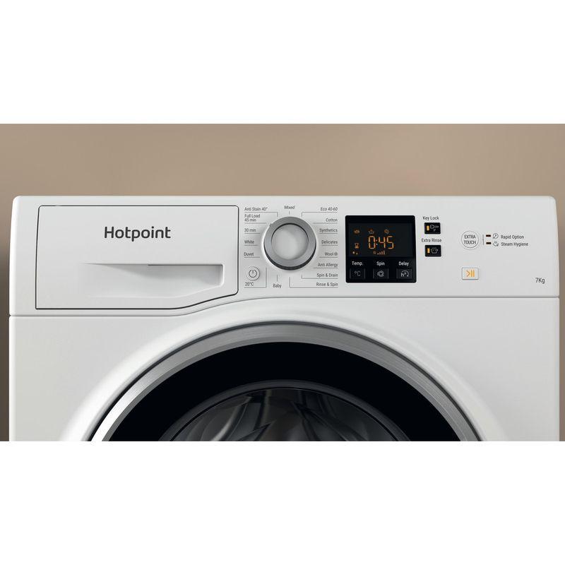 Hotpoint-Washing-machine-Free-standing-NSWE-743U-WS-UK-N-White-Front-loader-D-Lifestyle-control-panel