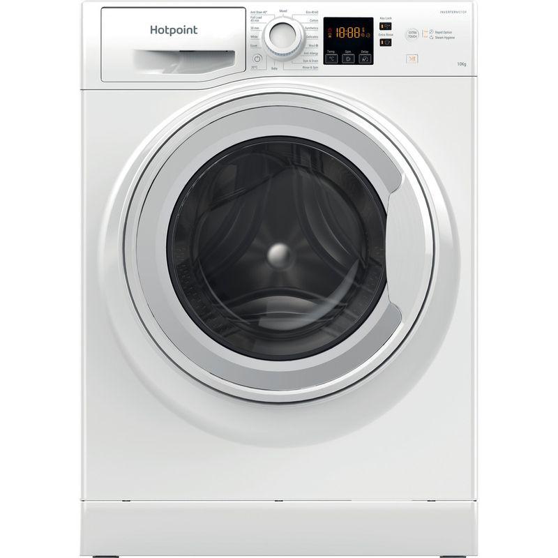 Hotpoint-Washing-machine-Free-standing-NSWM-1044C-W-UK-N-White-Front-loader-C-Frontal