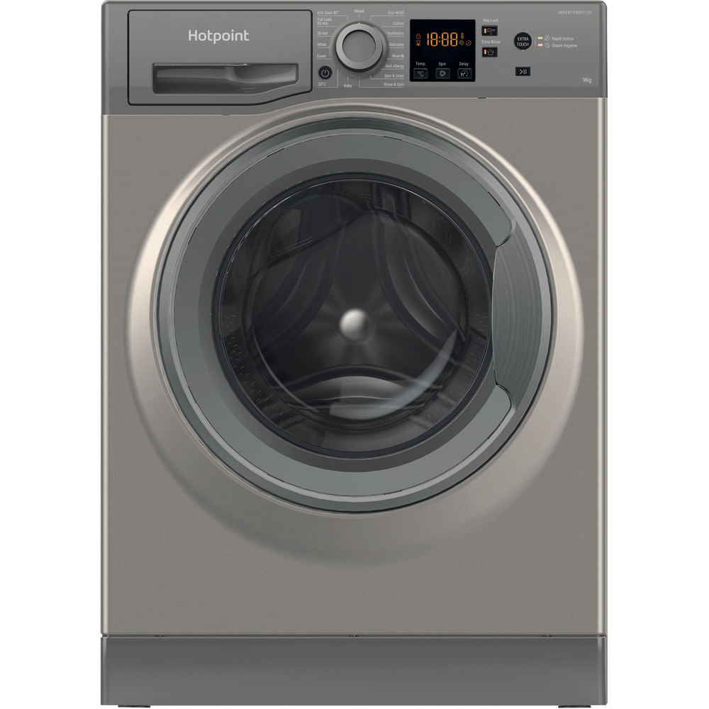 Hotpoint Freestanding Washing Machine NSWM 944C GG UK N : discover the specifications of our home appliances and bring the innovation into your house and family.
