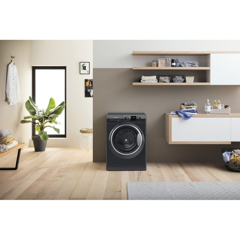 Hotpoint-Washing-machine-Free-standing-NSWM-1044C-BS-UK-N-Black-Front-loader-C-Lifestyle-frontal