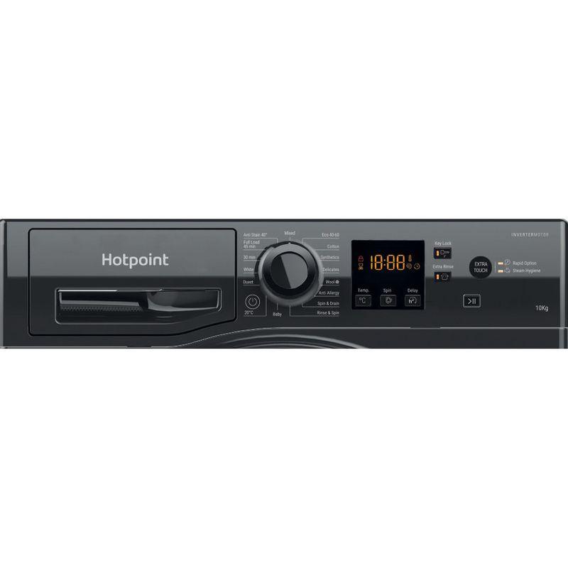 Hotpoint-Washing-machine-Free-standing-NSWM-1044C-BS-UK-N-Black-Front-loader-C-Control-panel