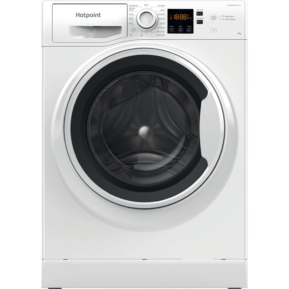 Hotpoint Freestanding Washing Machine NSWA 944C WW UK N : discover the specifications of our home appliances and bring the innovation into your house and family.