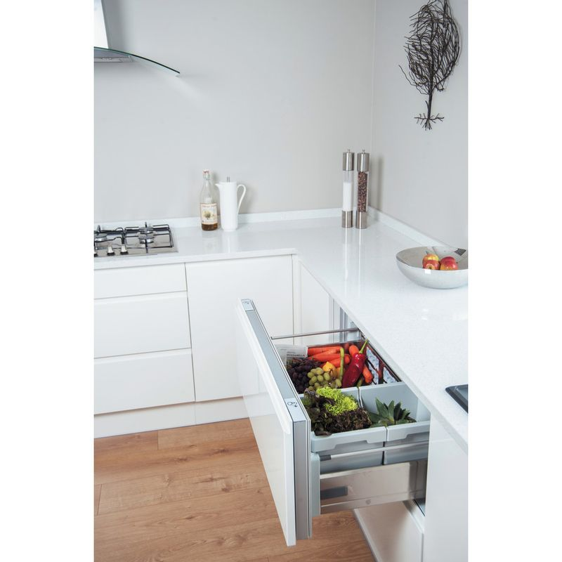 Hotpoint-Refrigerator-Built-in-NCD-191-I-White-Lifestyle-perspective-open