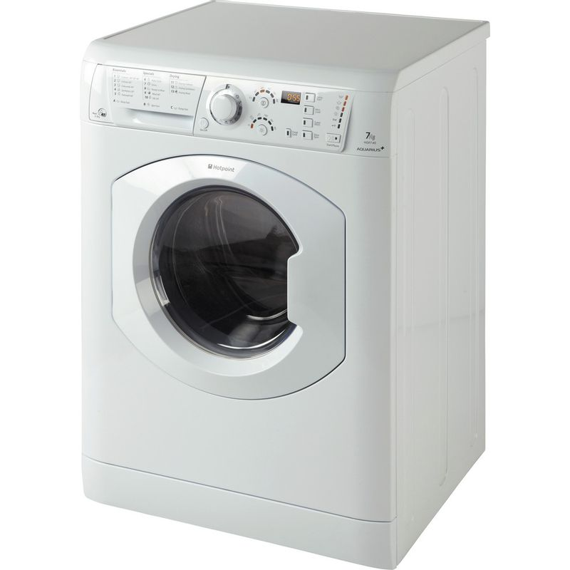 Hotpoint-Washer-dryer-Free-standing-WDF-740-P--UK--White-Front-loader-Perspective