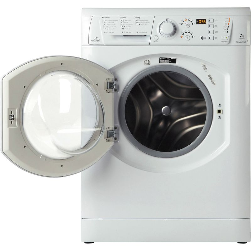Hotpoint-Washer-dryer-Free-standing-WDF-740-P--UK--White-Front-loader-Frontal_Open