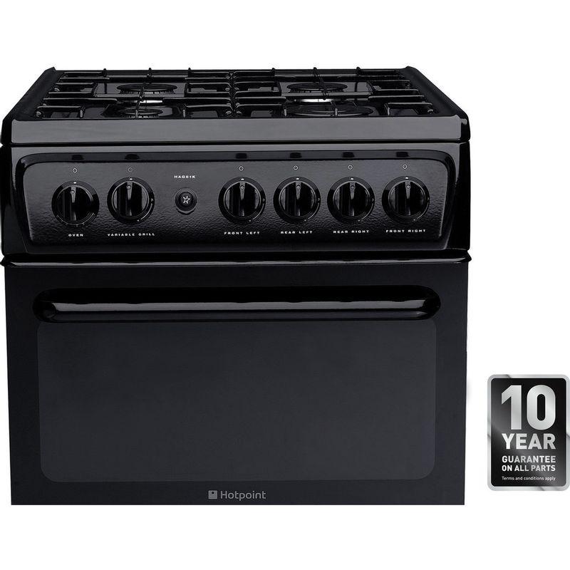 Hotpoint-Double-Cooker-HAG51K-Black-A--Enamelled-Sheetmetal-Award