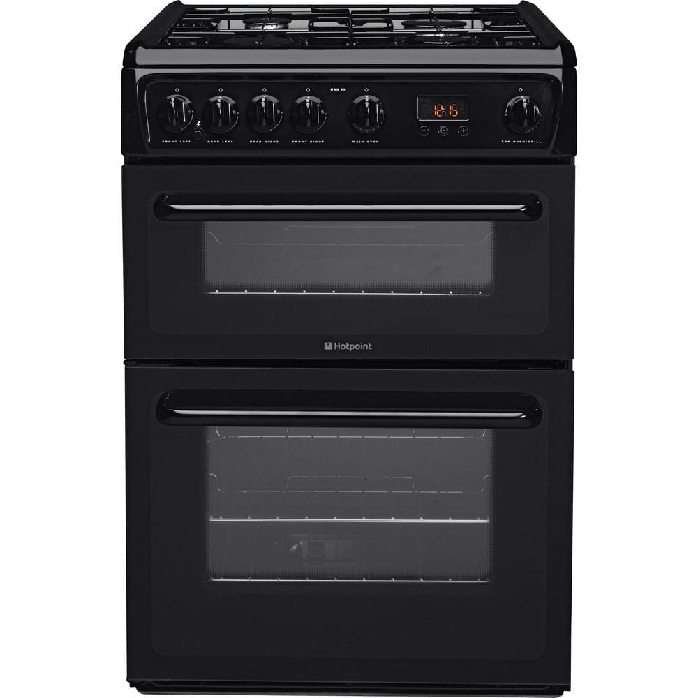 Hotpoint Double Cooker HAG60K : discover the specifications of our home appliances and bring the innovation into your house and family.