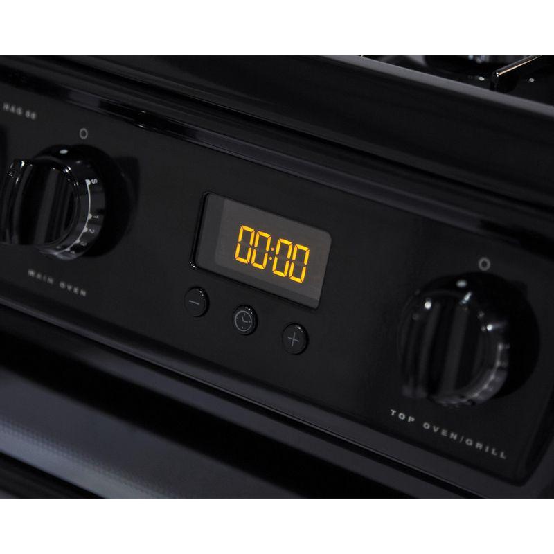 Hotpoint-Double-Cooker-HAG60K-Black-A--Enamelled-Sheetmetal-Control_Panel