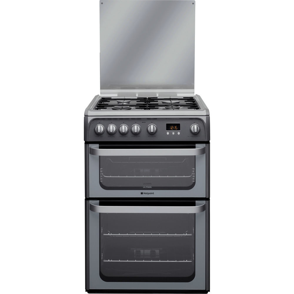 Hotpoint Double Cooker HUG61G : discover the specifications of our home appliances and bring the innovation into your house and family.